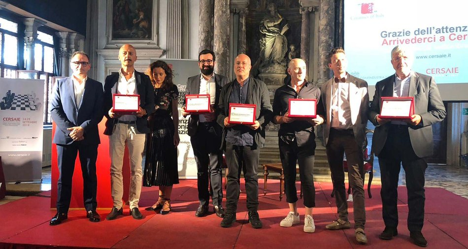 La Ceramica e il Progetto 2018: Maurizio Varratta wins the award in the institutional category with the Prysmian headquarters building