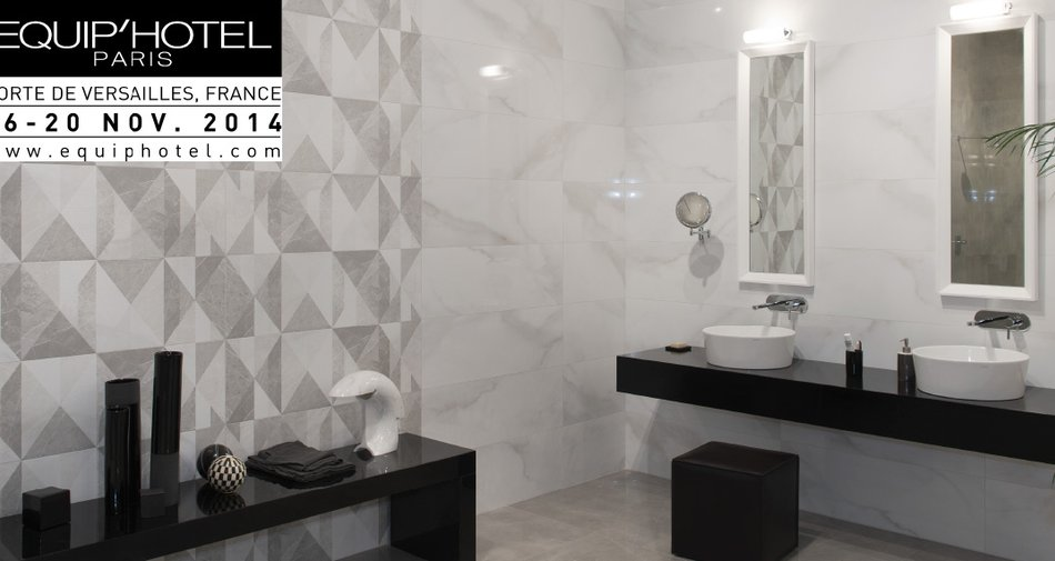 Marazzi at Equip'Hotel Paris 2014