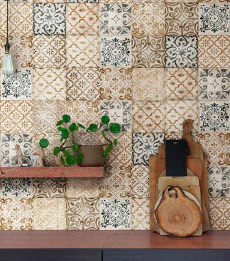 Mist and Cast, the new 25x38 cm wall tiles rediscover the beauty of decoration