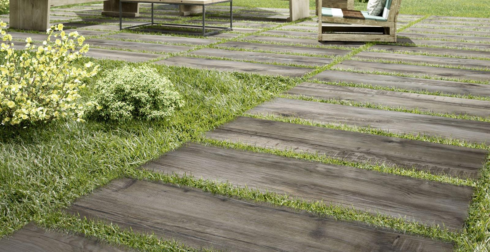Garden Floors: Outdoor Porcelain Stoneware
