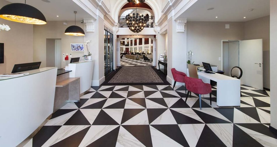 Hotel Regina Biarritz wins the Marazzi France competition