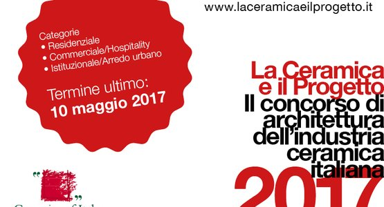 """La Ceramica e il Progetto"" 2017: the competition's sixth edition gets under way"