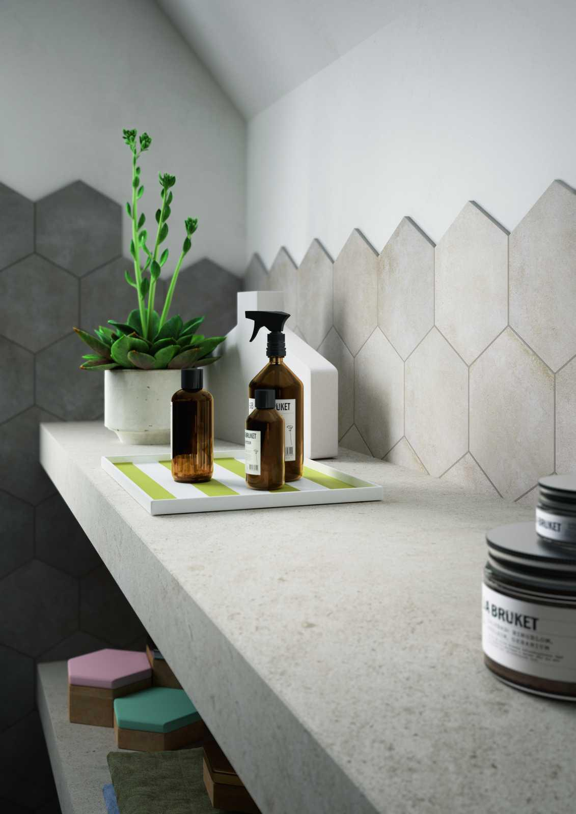 Square, Rectangular or Hexagonal tiles: choose your size