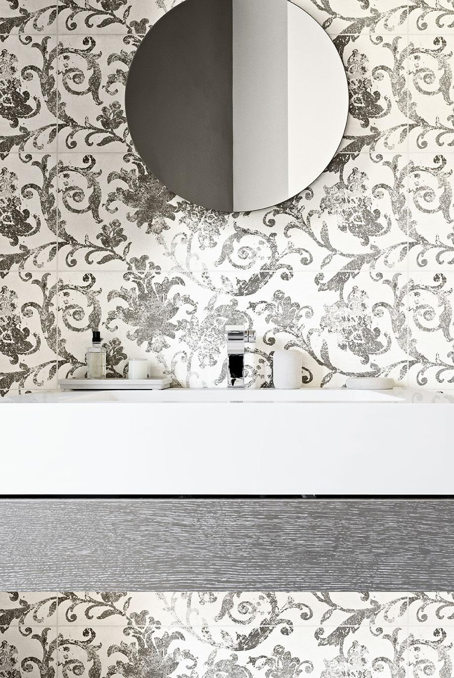 Plaster effect for Fresco large-size tiles