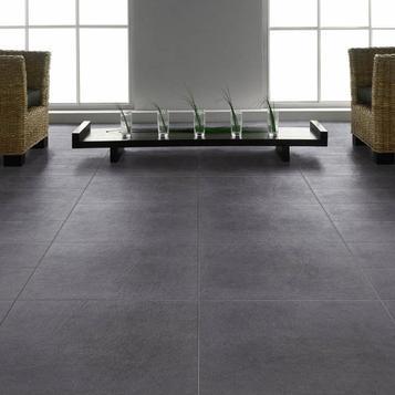 Black Stone Effect Tiles Marazzi, Black Stone Tile Flooring