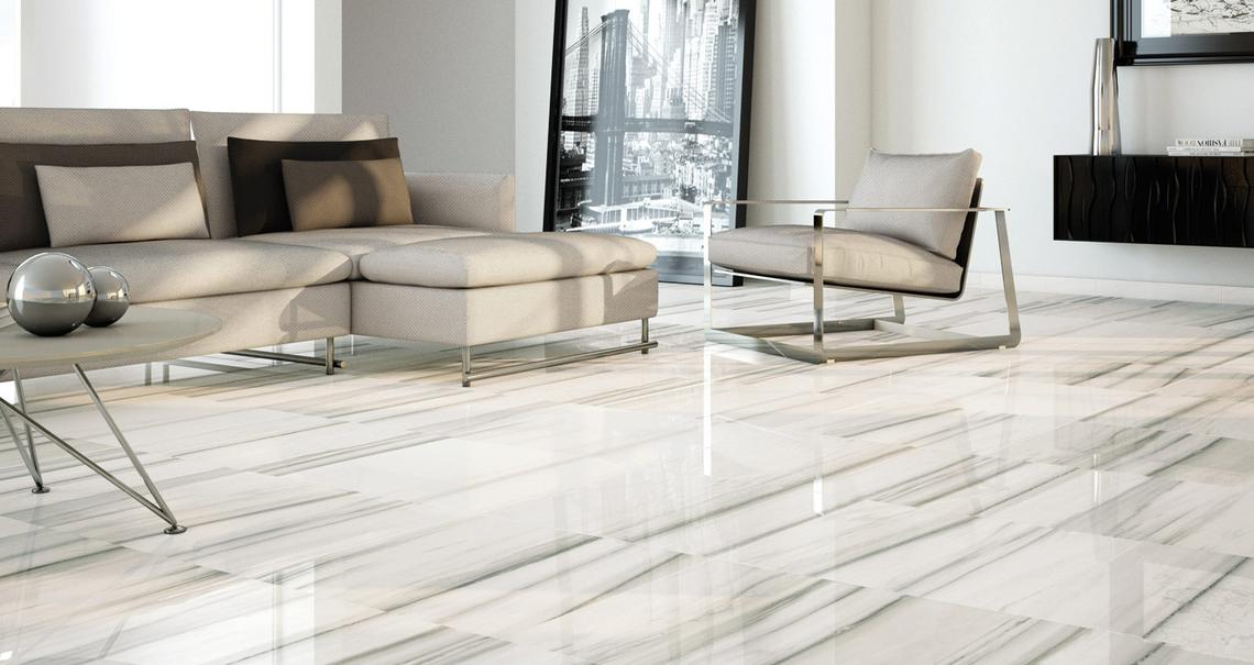 Perseo - Marble Effect - Living Room