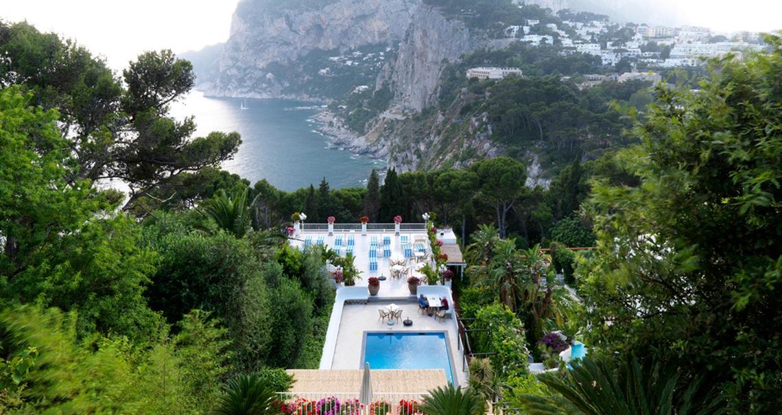 Solarium Hotel Villa Brunella Capri Marazzi