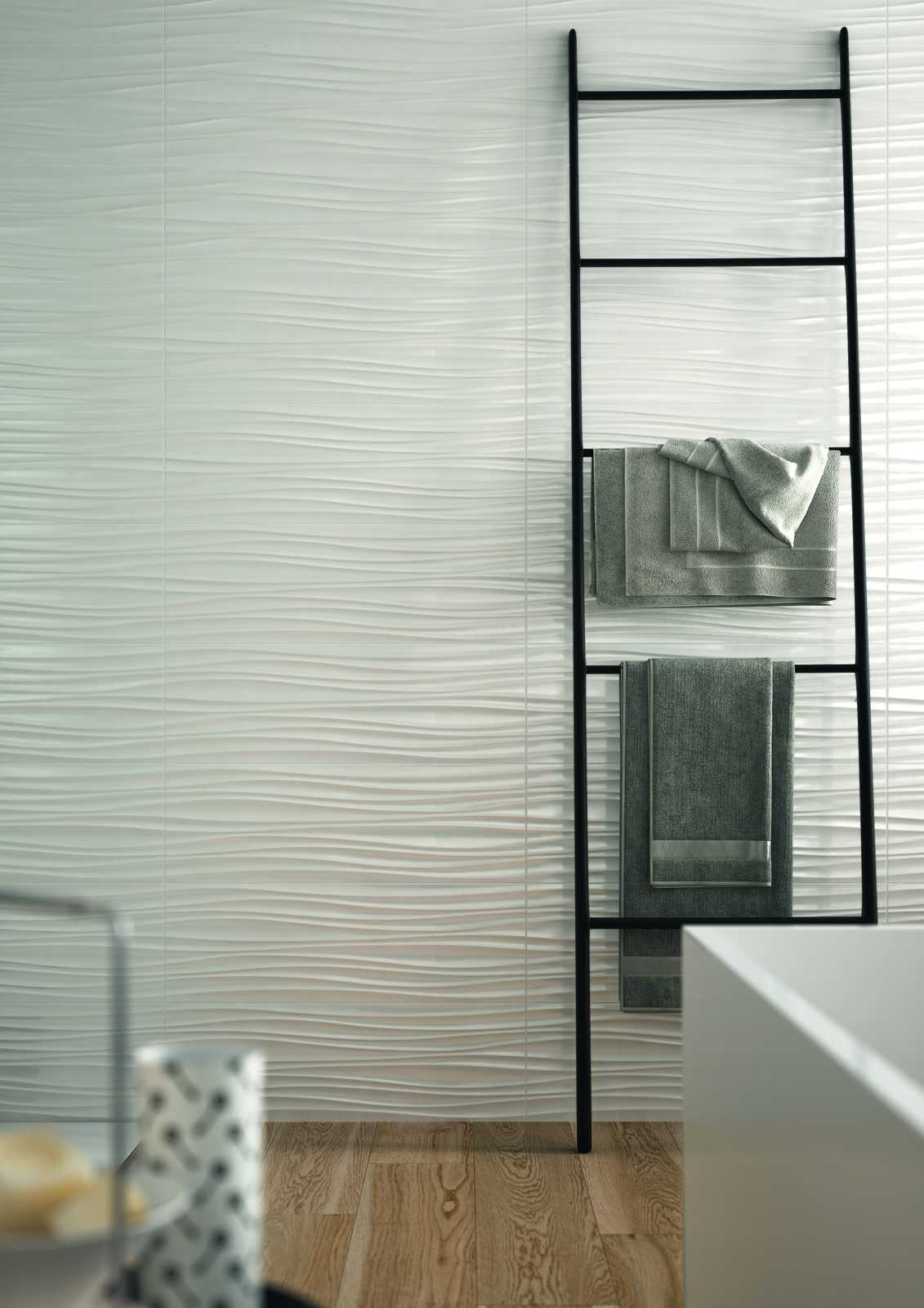 Absolute white 3d structure white wall tiles marazzi absolute white ceramic tiles marazzi7400 doublecrazyfo Images