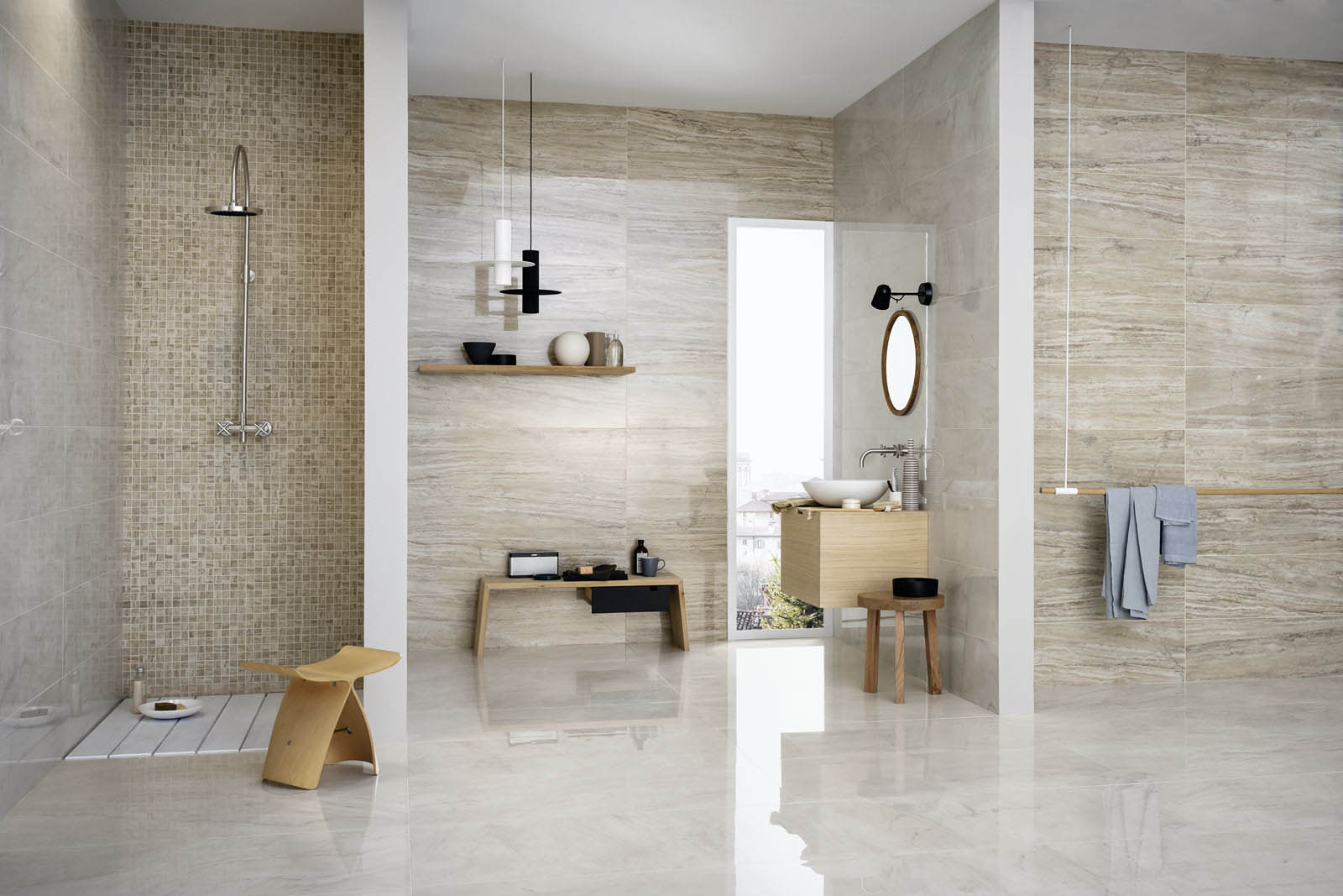 Floor and covering tiles colours and effects marazzi for Floor covering tiles