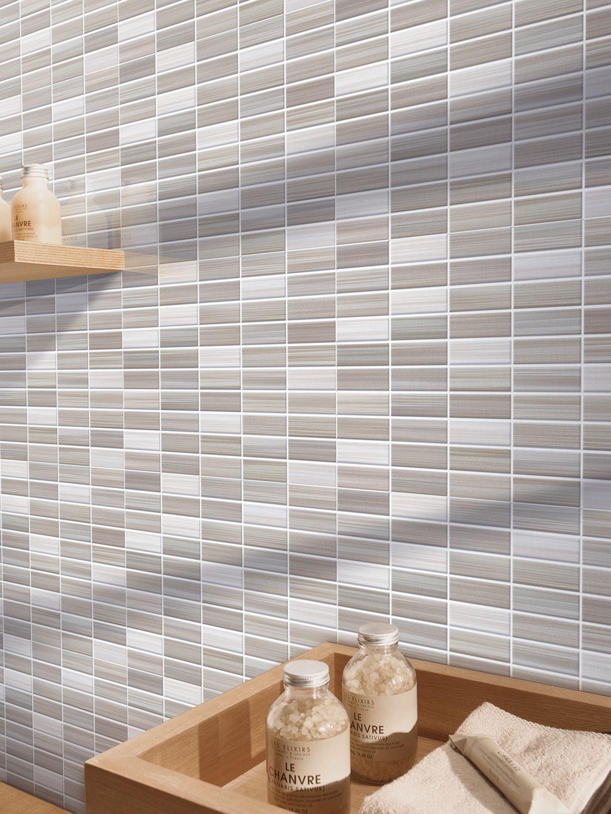 Bits - Porcelain stoneware mosaic | Marazzi