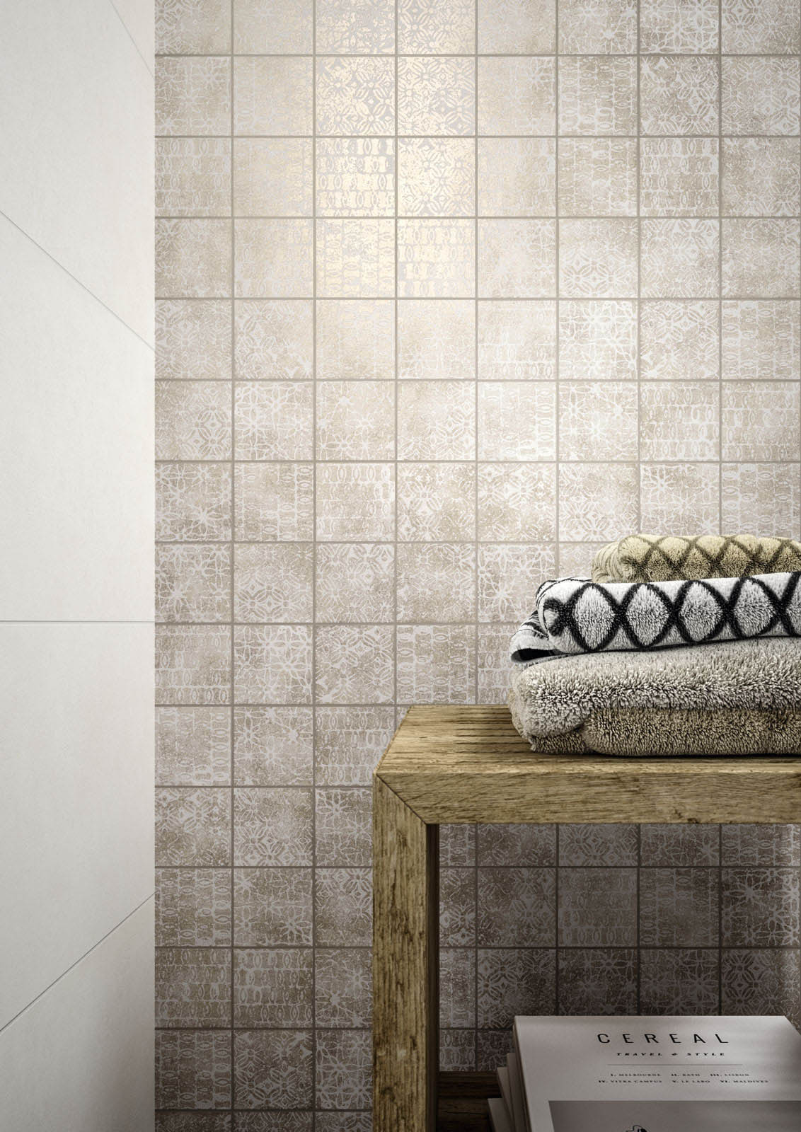 Chalk concrete look wall tiles marazzi chalk ceramic tiles marazzi7637 dailygadgetfo Images