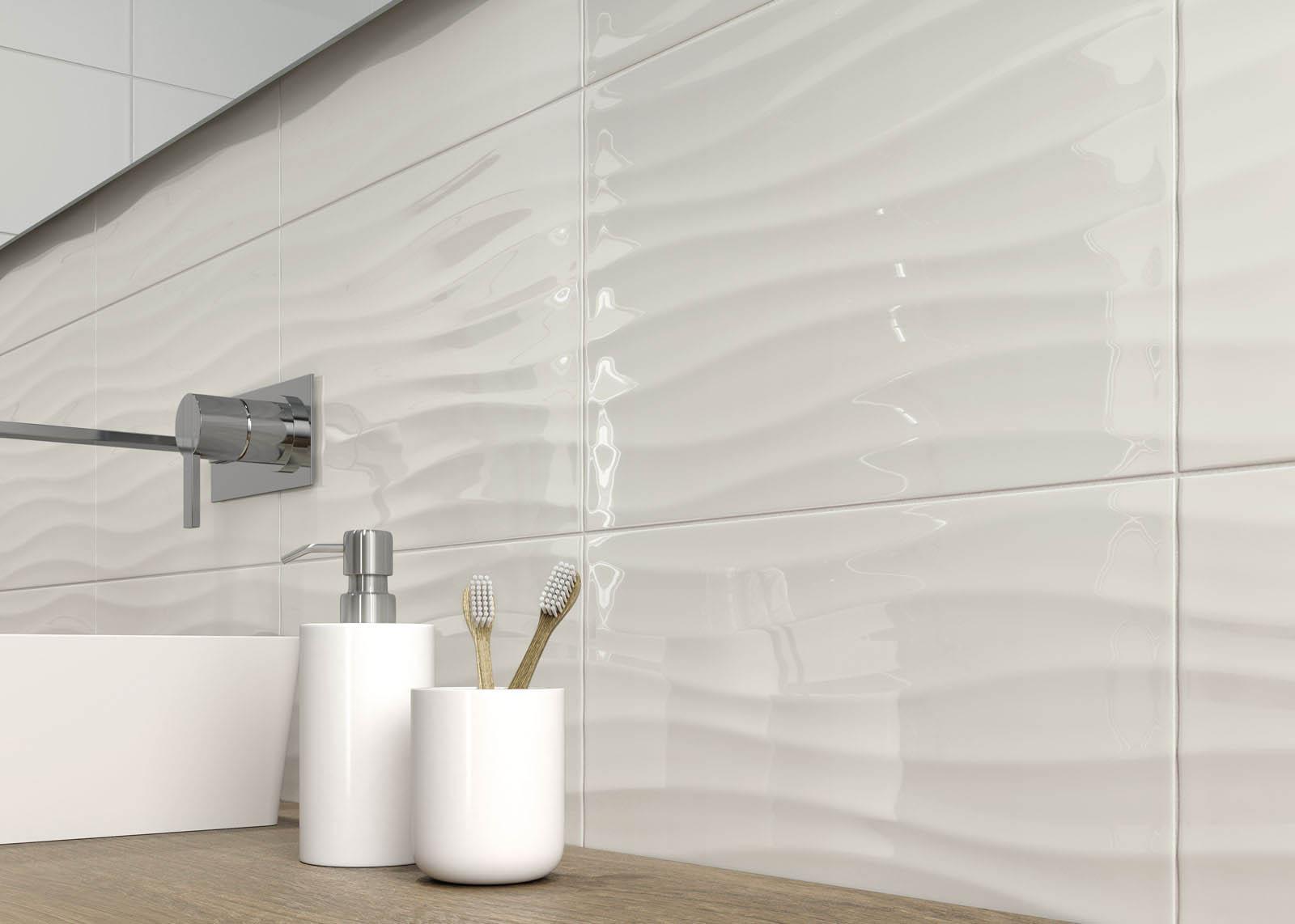 Pearl bathroom tiles - Grey Tiles Pearl Dark Light And Dove Marazzi 7426