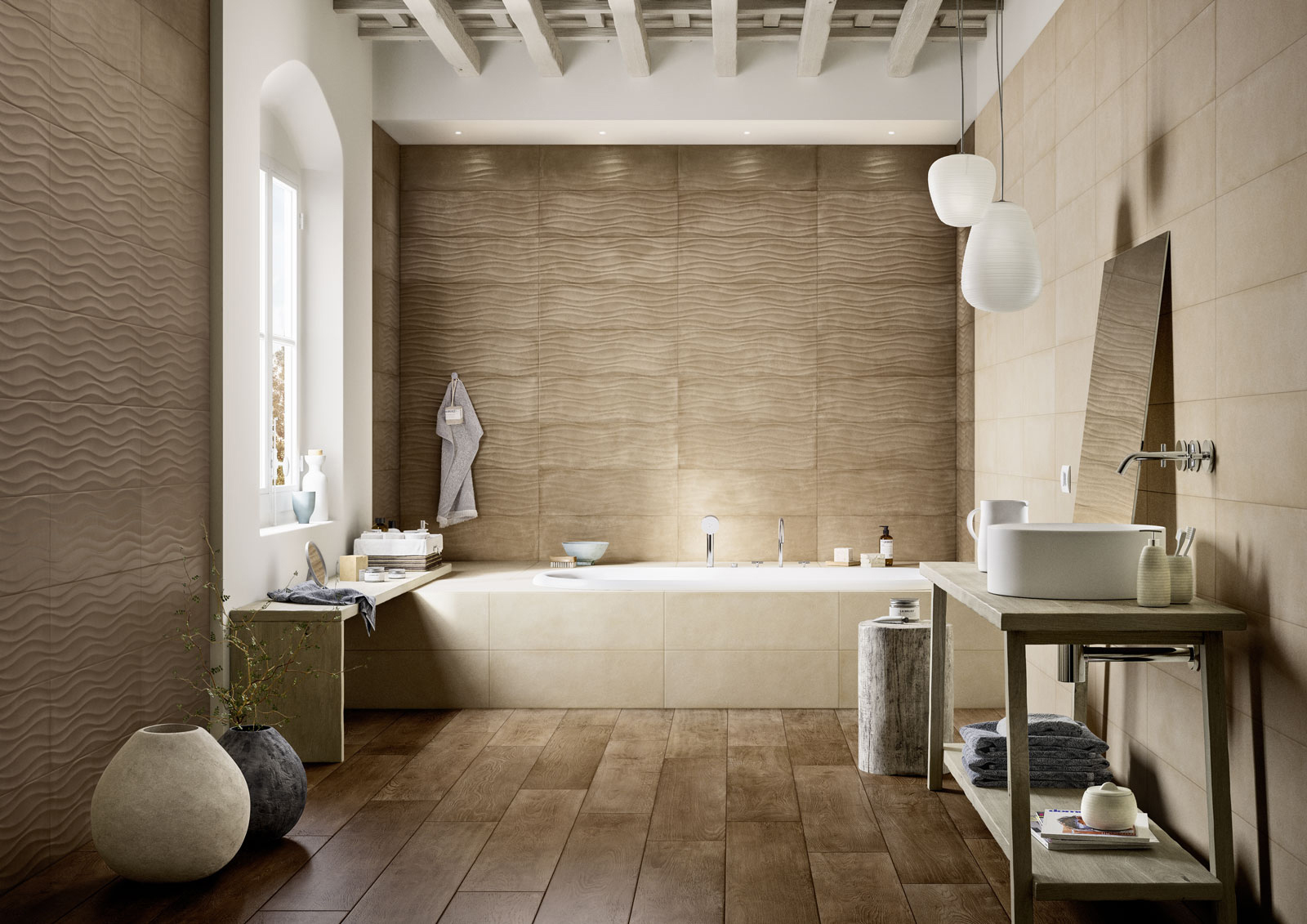 Clayline terracotta look ceramic wall covering marazzi for Marazzi tile