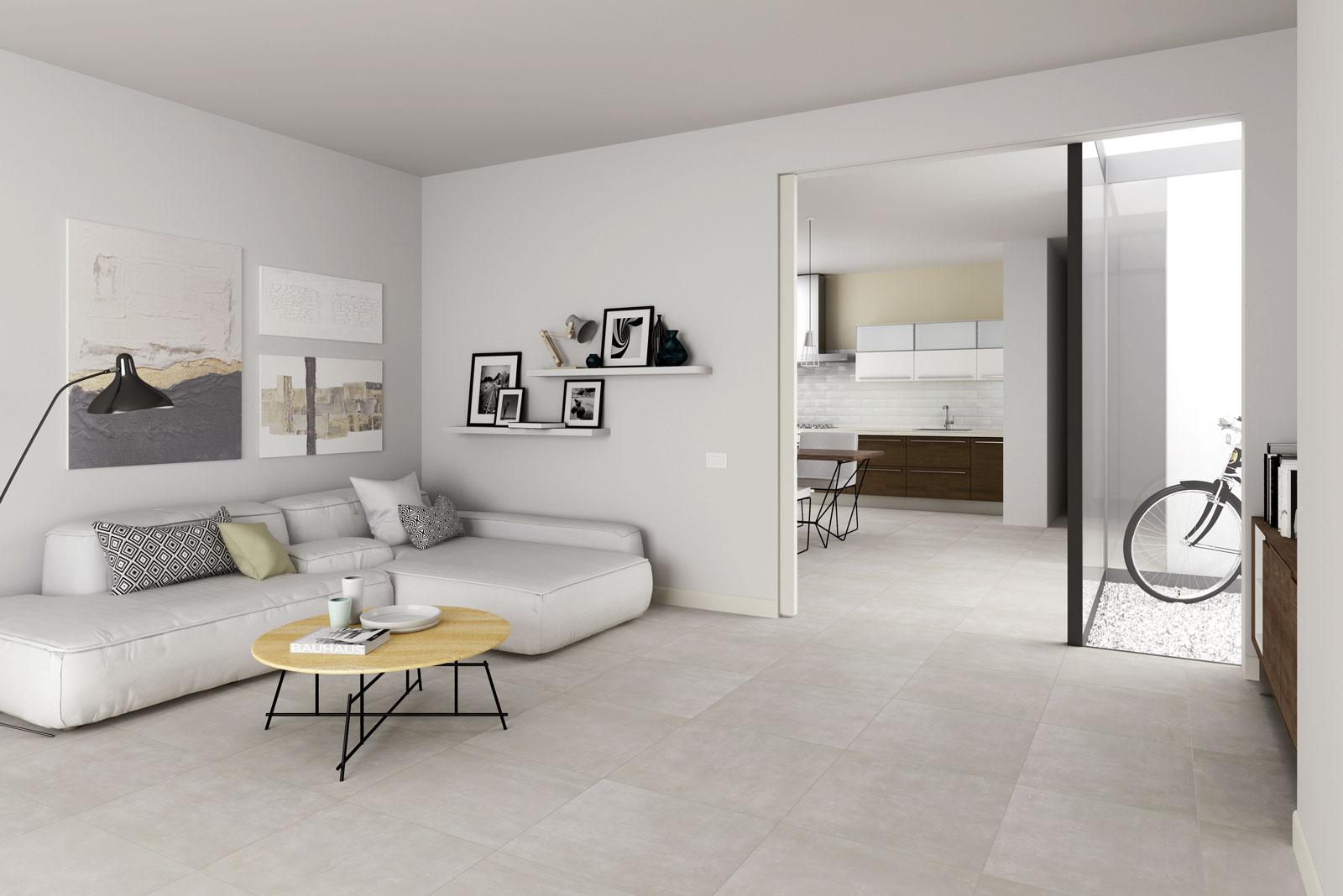 dust concrete effect tiles marazzi. Black Bedroom Furniture Sets. Home Design Ideas