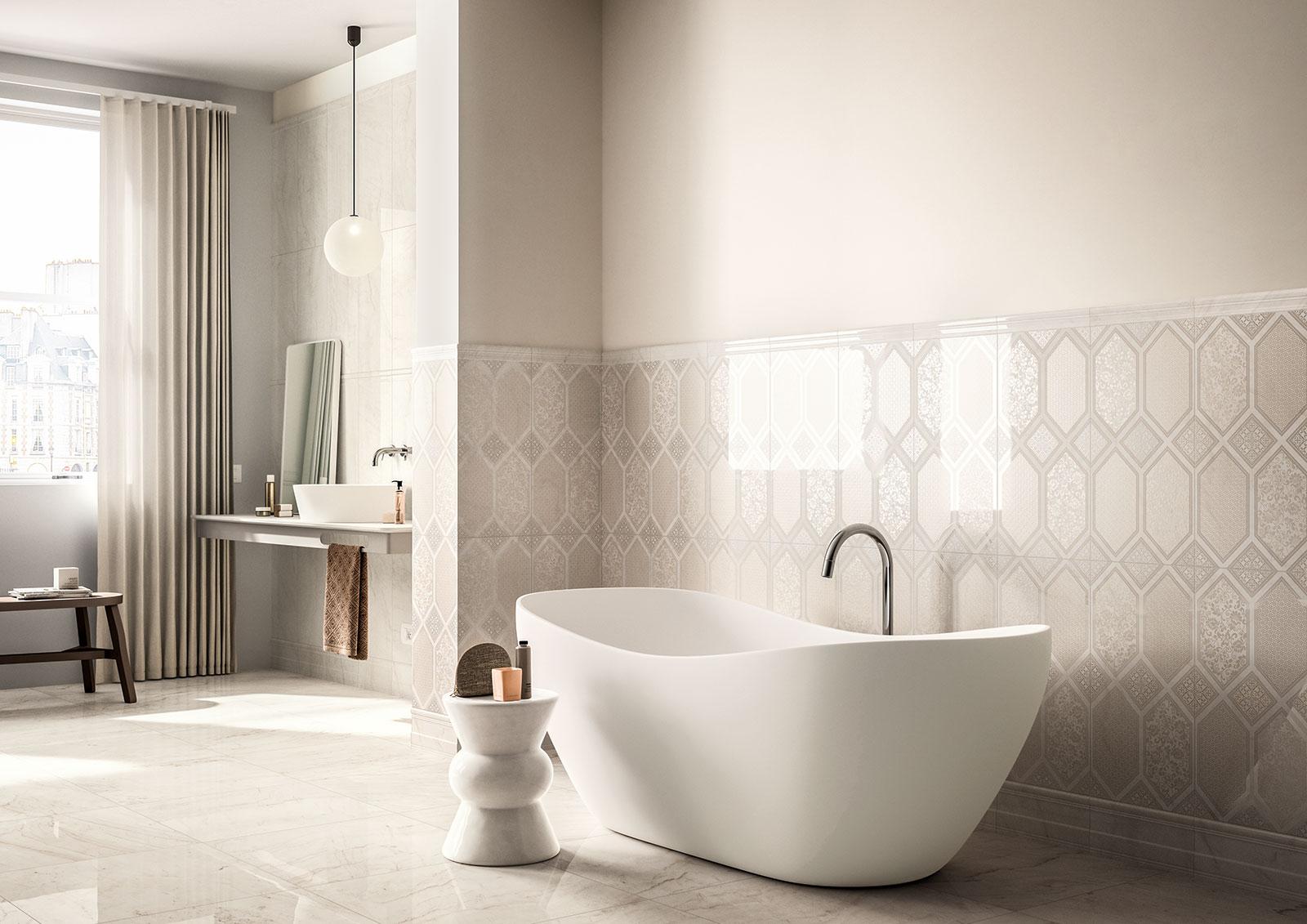 Bathroom Ceramic Tile Patterns