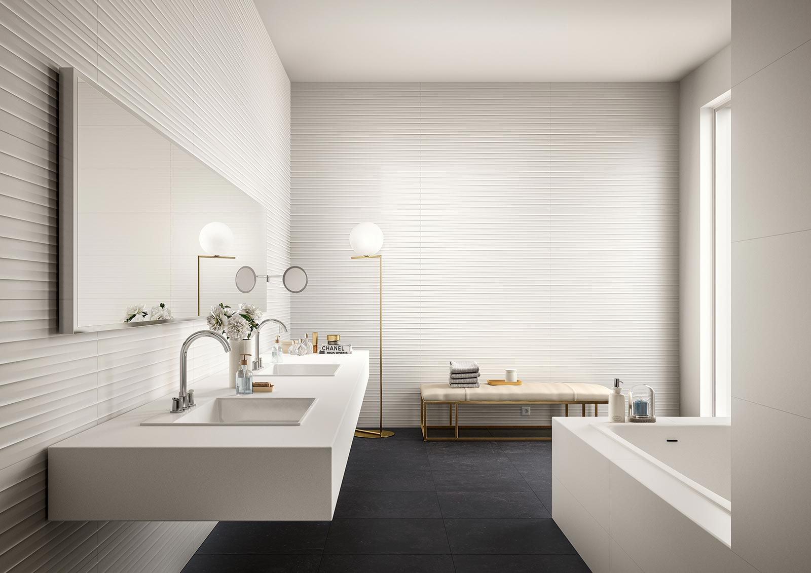 Bathroom Flooring Ceramic And Porcelain Stoneware