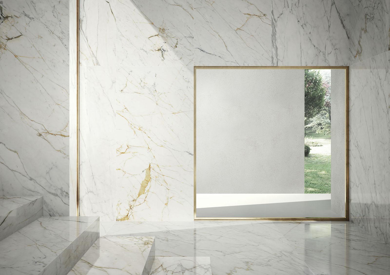 Grande marble look marazzi for Carrelage marazzi