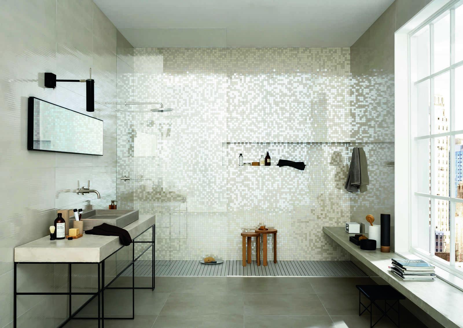 Imperfetto coloured porcelain bathroom tiles marazzi imperfetto ceramic tiles marazzi6326 doublecrazyfo Choice Image