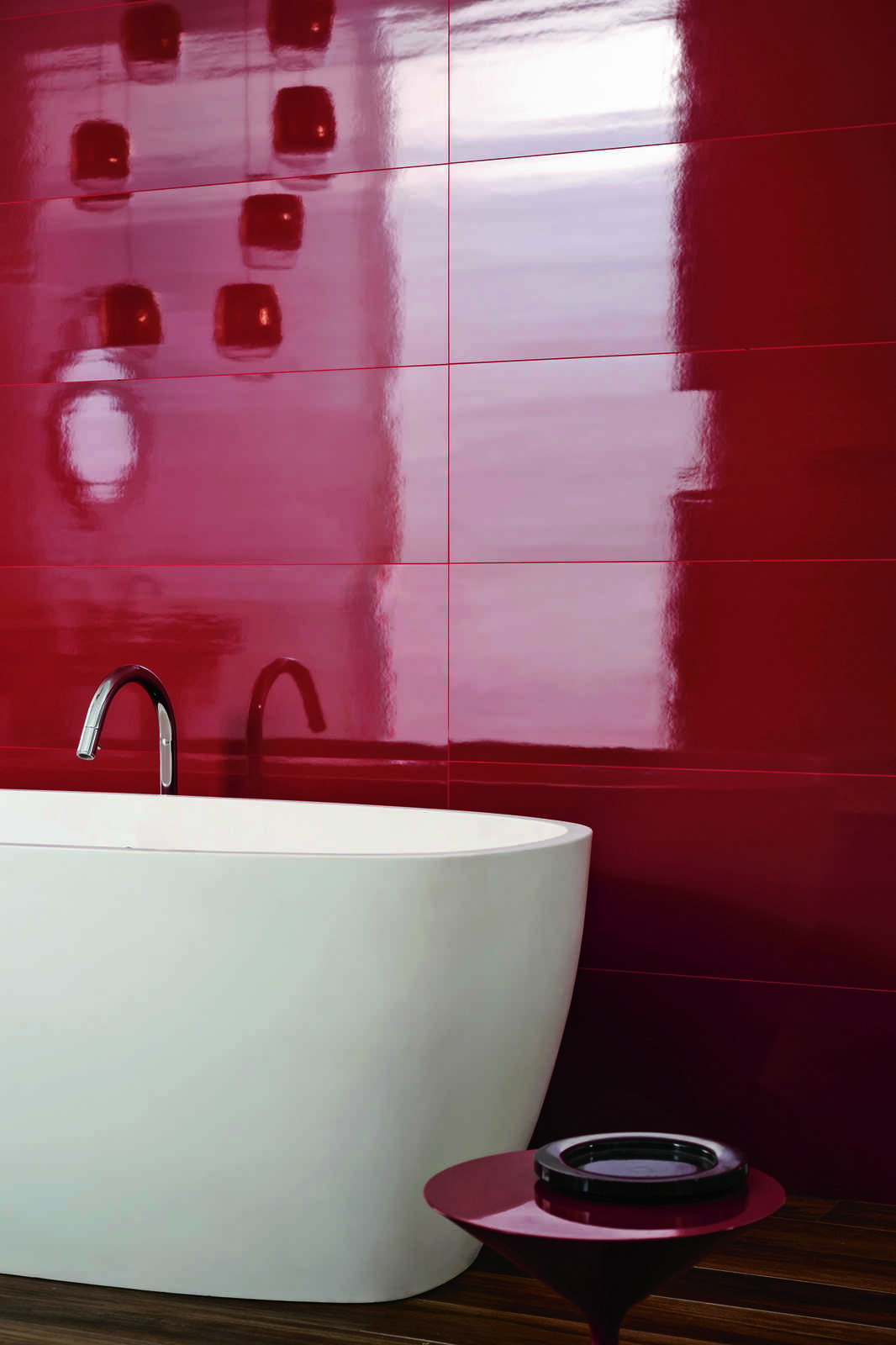 Bathroom Tiles Red imperfetto - coloured porcelain bathroom tiles | marazzi