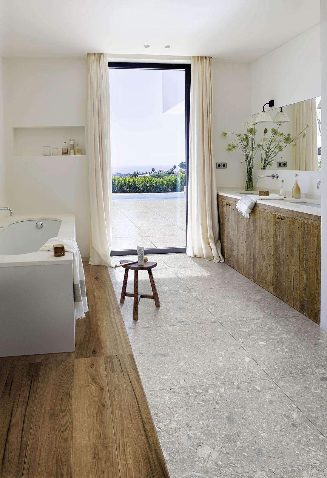 Bathroom flooring ceramic and porcelain stoneware Marazzi