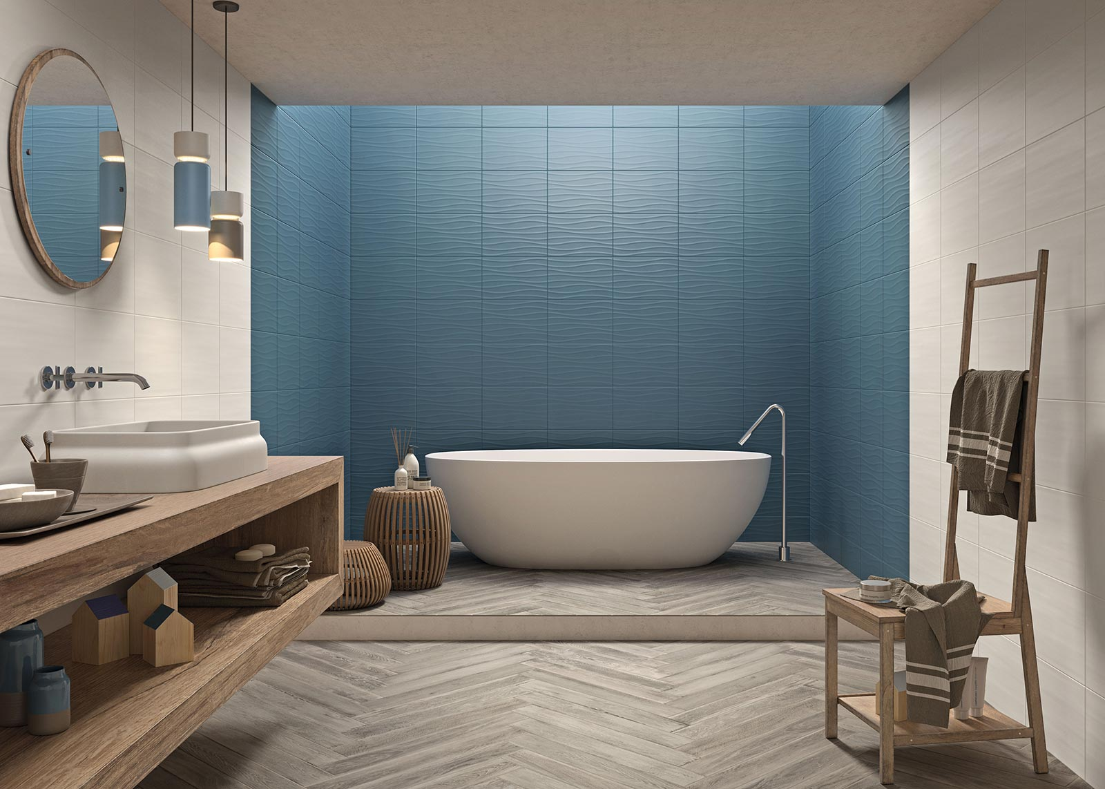 Bathroom flooring: ceramic and porcelain stoneware | Marazzi