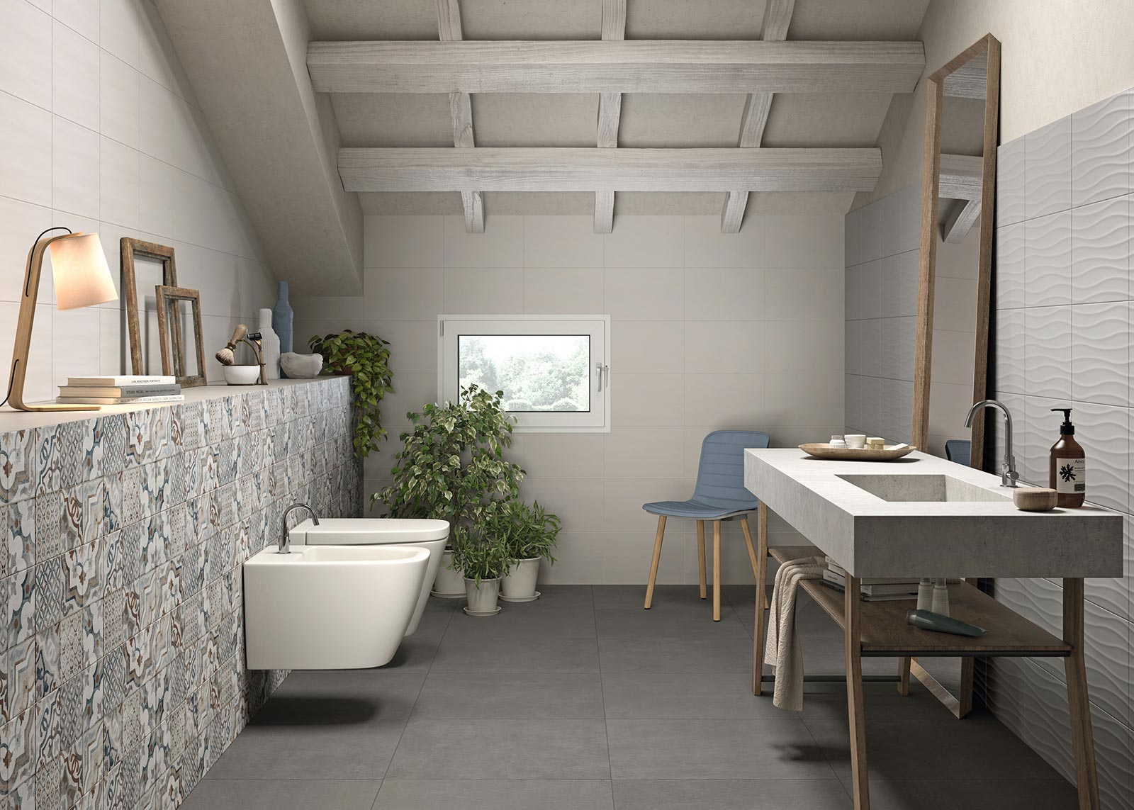 Neutral Bathroom And Kitchen Tiles Marazzi