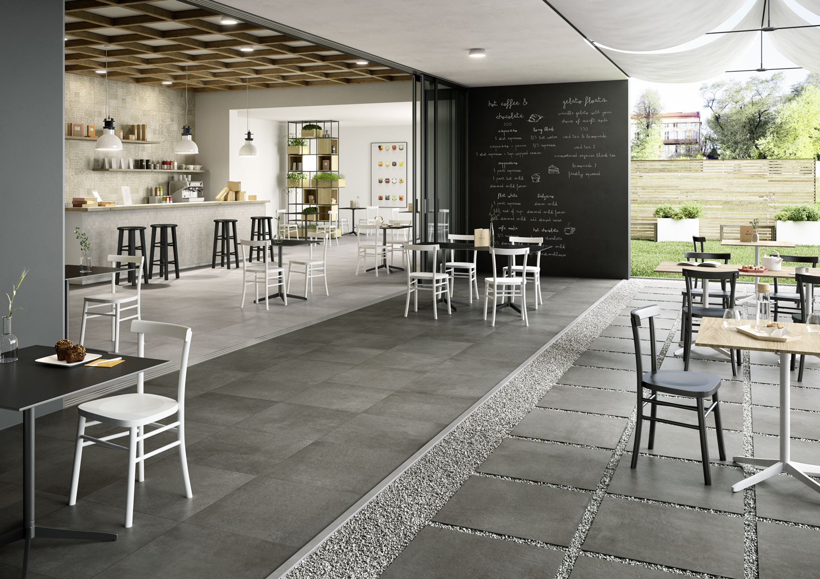 Charming Indoor And Outdoor Flooring: View The Catalogue   Marazzi 7256