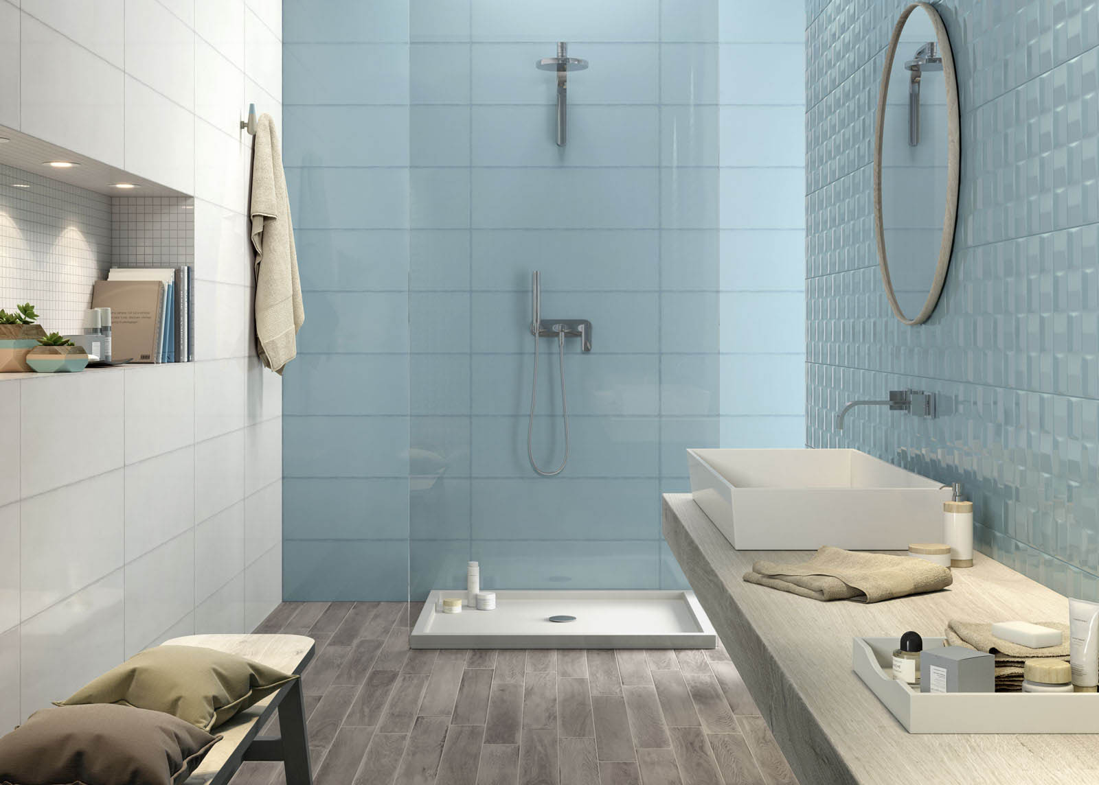 Pottery Glossy Wall Tiles