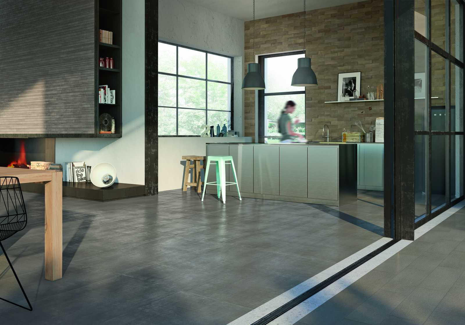 Indoor and outdoor flooring view the catalogue marazzi 7012