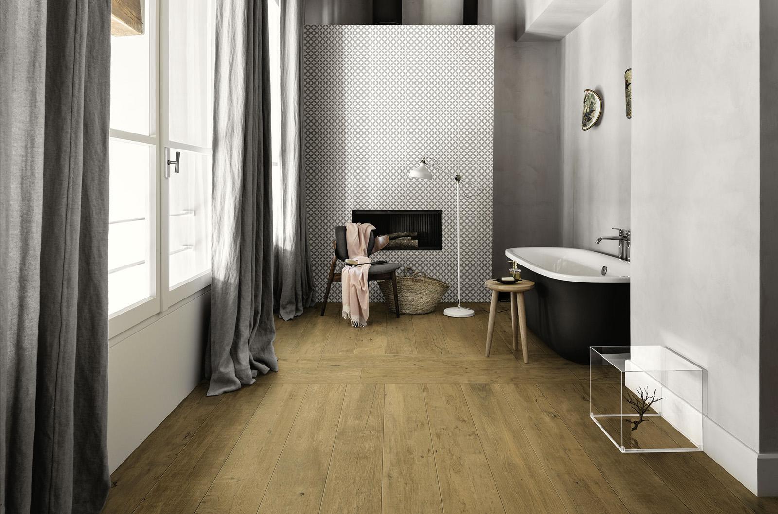 Bathroom Flooring: Ceramic And Porcelain Stoneware