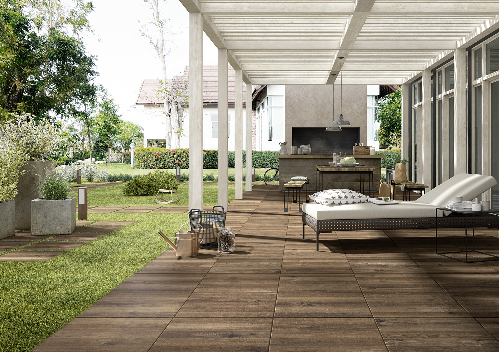 outdoor tiles gardens and terraces marazzi. Black Bedroom Furniture Sets. Home Design Ideas