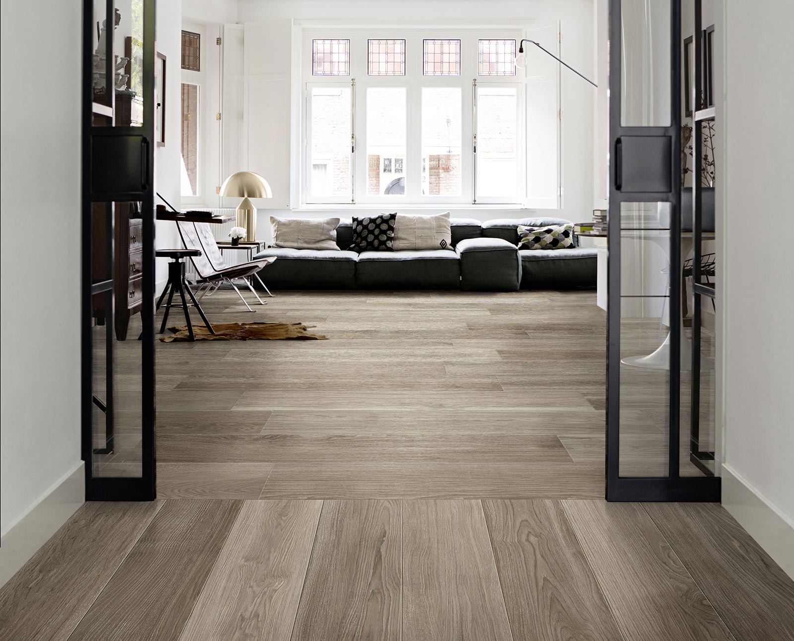 Treverkmust wood effect tiles marazzi for Pose carrelage sol imitation parquet