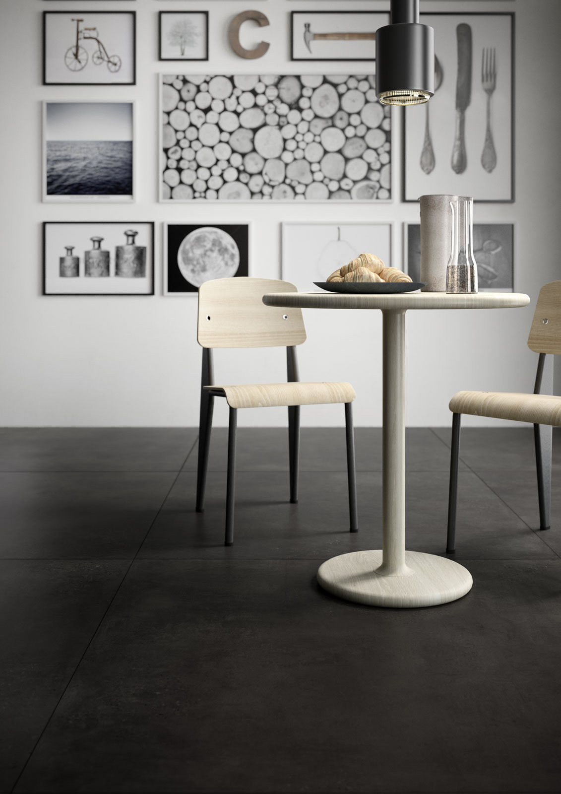 Kitchen flooring: stoneware and porcelain solutions | Marazzi