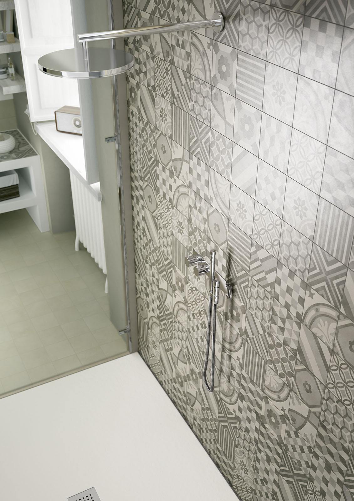 Block porcelain stoneware flooring and walls marazzi Marazzi tile