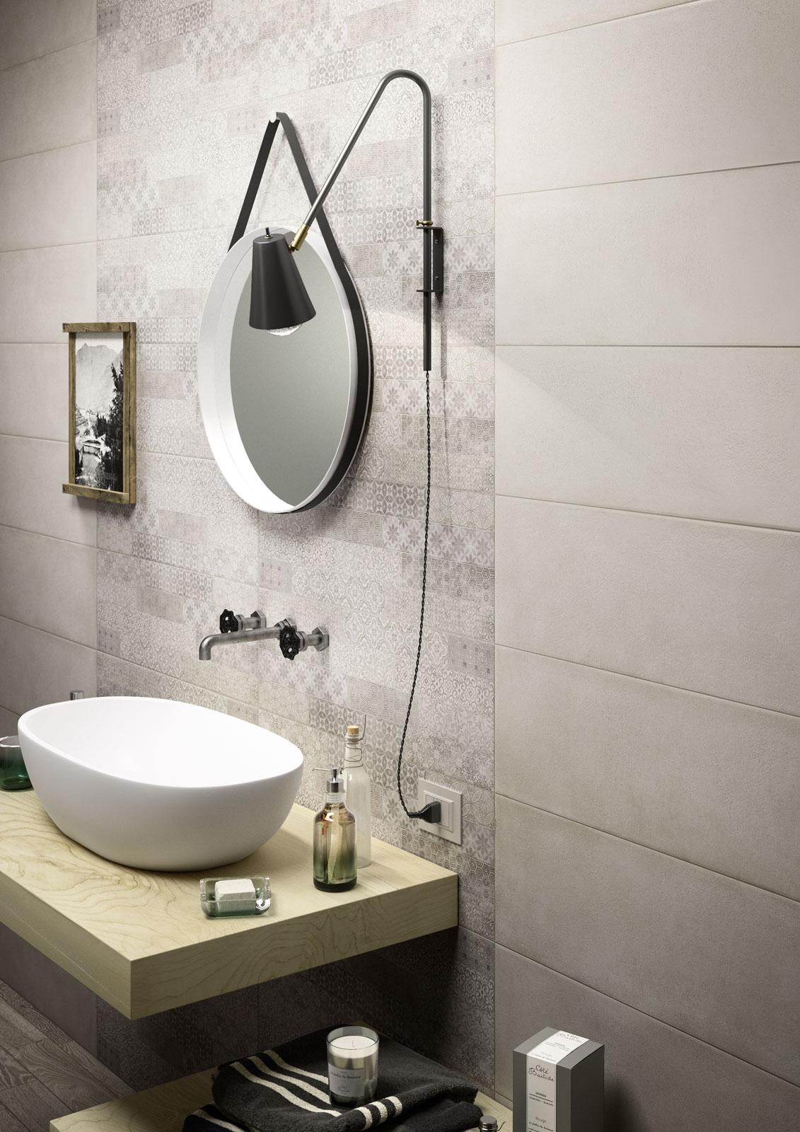 Clayline terracotta look ceramic wall covering marazzi for Gres porcellanato carrelage