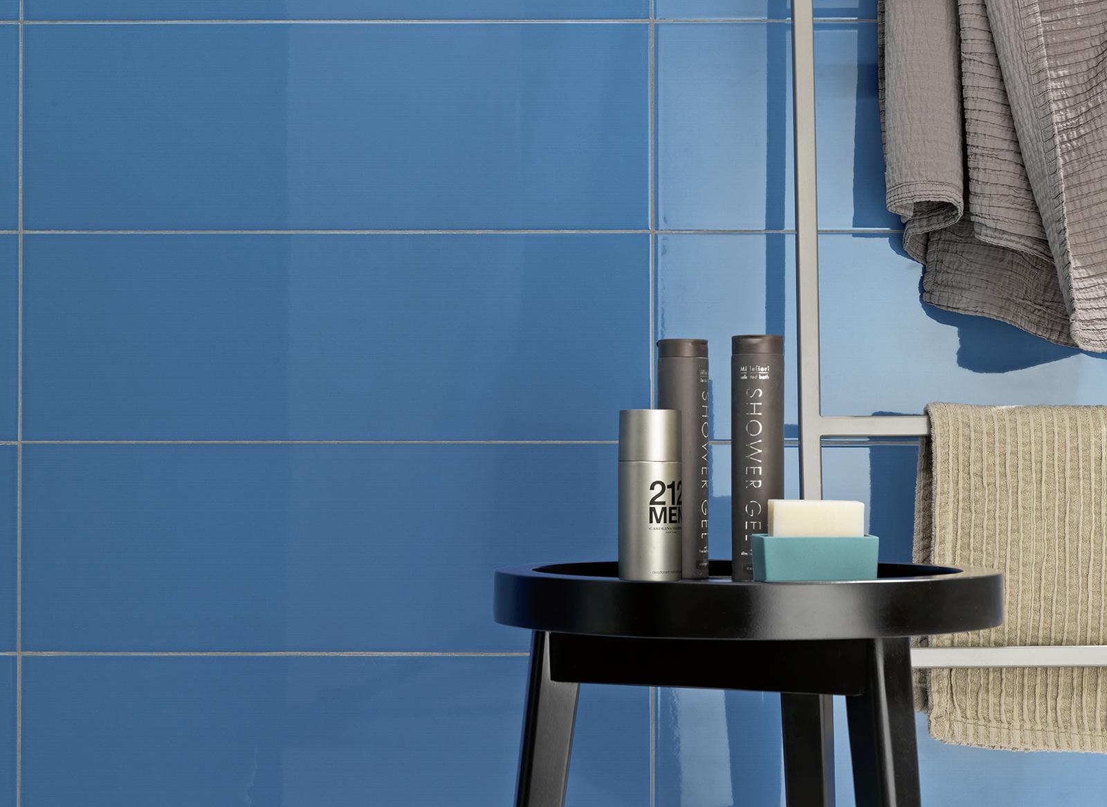 Bathroom tiles blue colour - Blue Tiles View Our Collections Marazzi 4816