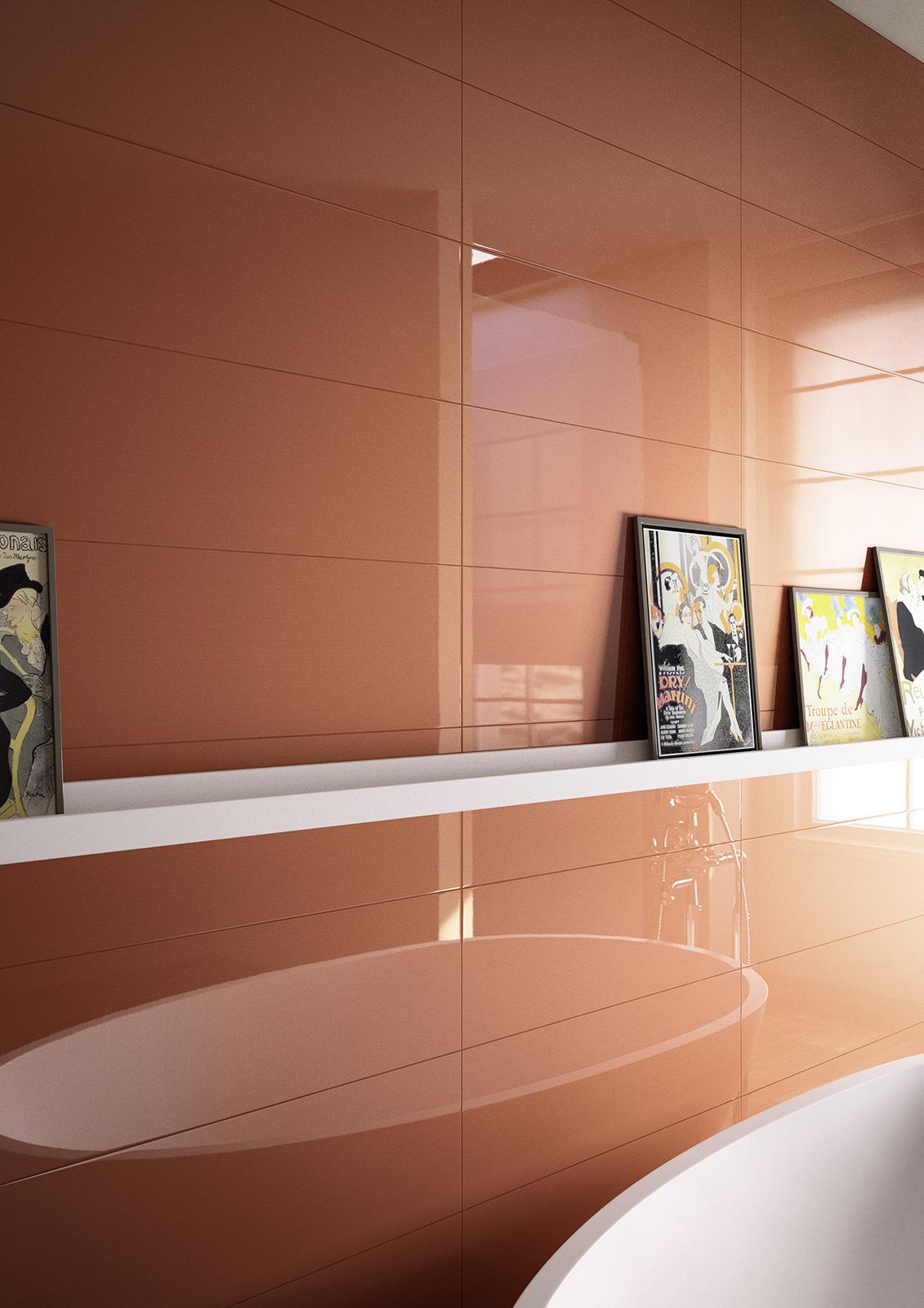 Colourline polished porcelain bathroom wall tiling marazzi colourline ceramic tiles marazzi4851 doublecrazyfo Choice Image