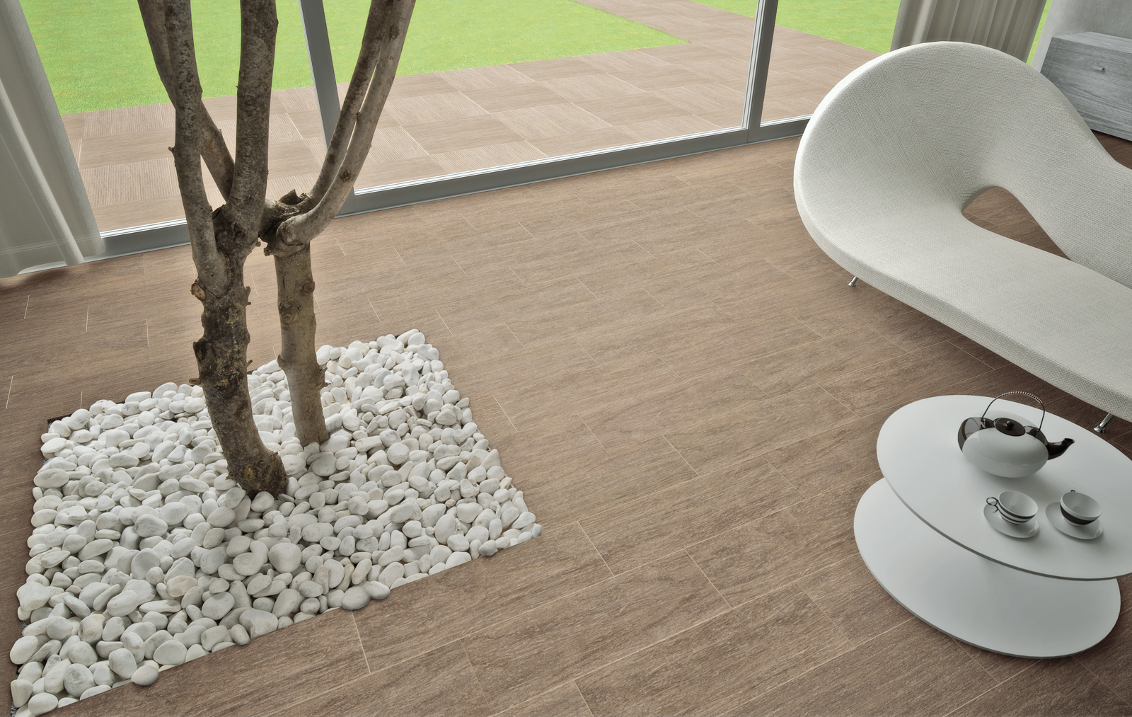 Indoor and outdoor flooring view the collections marazzi - Suelo ceramico exterior ...