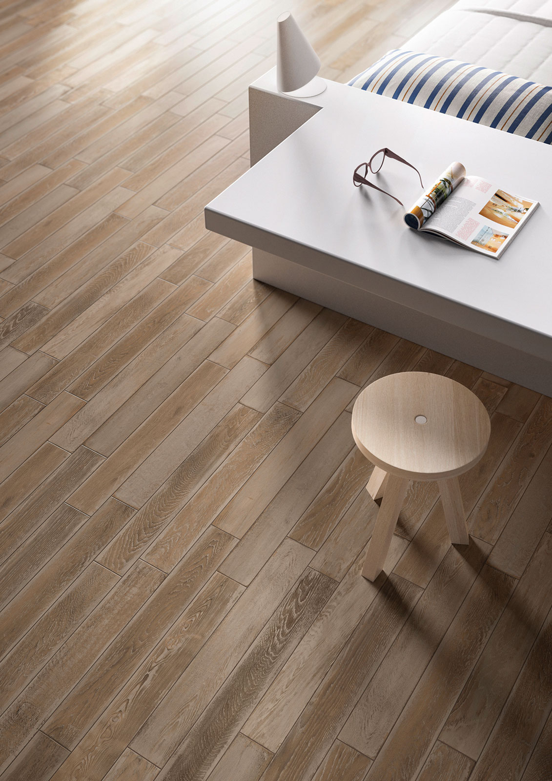 Kitchen flooring stoneware and porcelain solutions marazzi for Unusual floor coverings