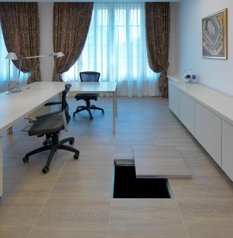 floating floor Treverk, Lesmo