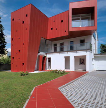 Ventilated walls Villa Nesi TO