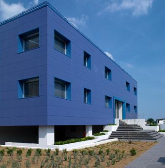 Saet Headquarters, Salvazzano Dentro